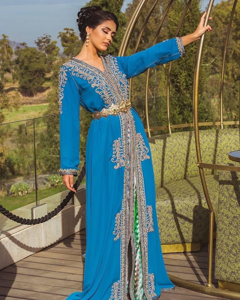 Caftan Marocain haute couture 2019