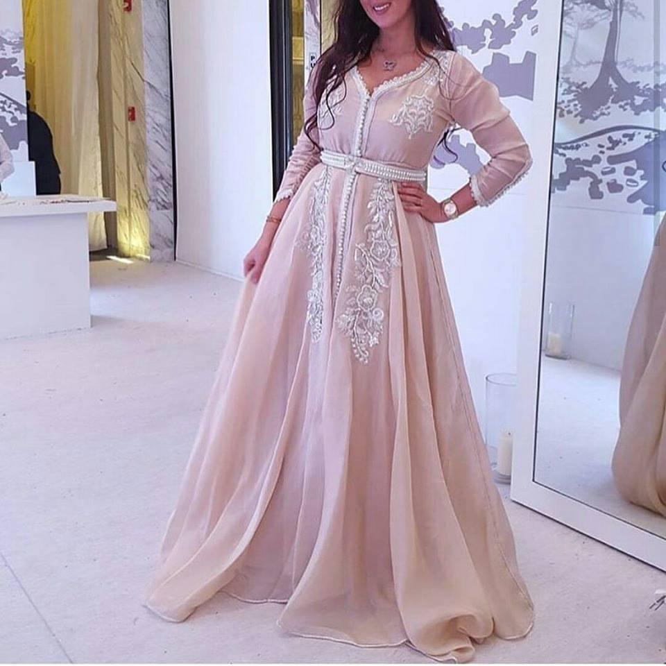 Caftan marocain de luxe