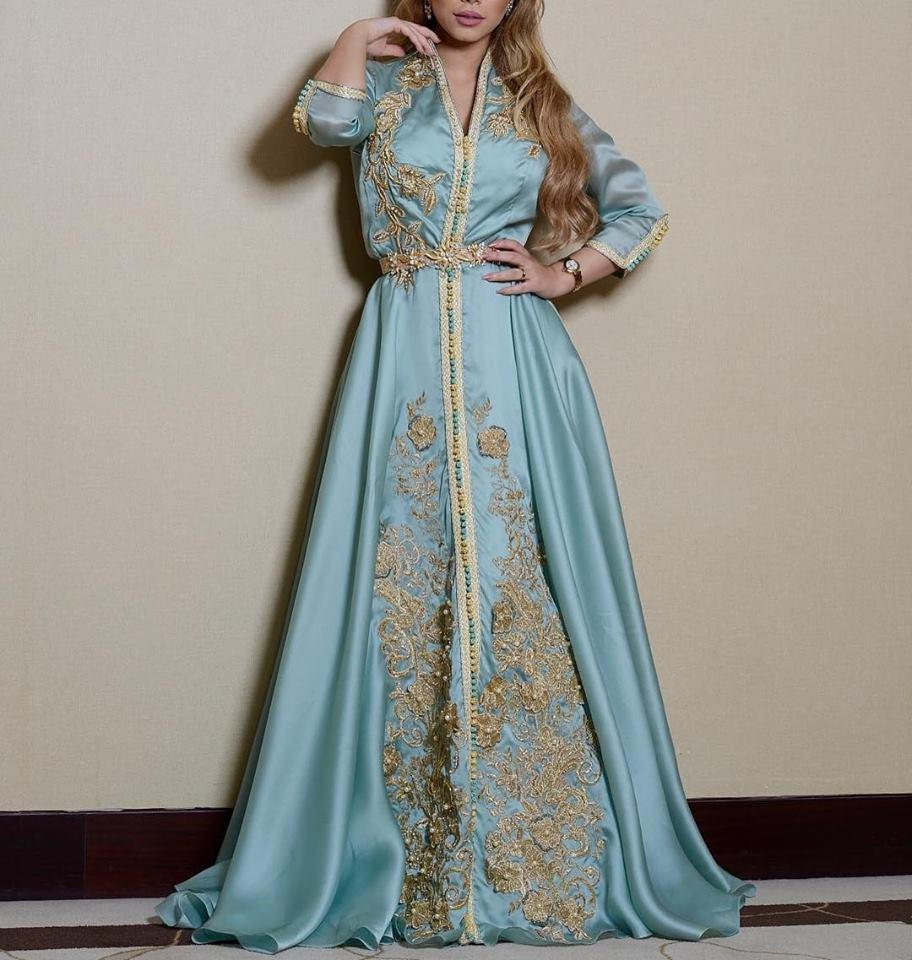 Caftan marocain sur mesure style moderne