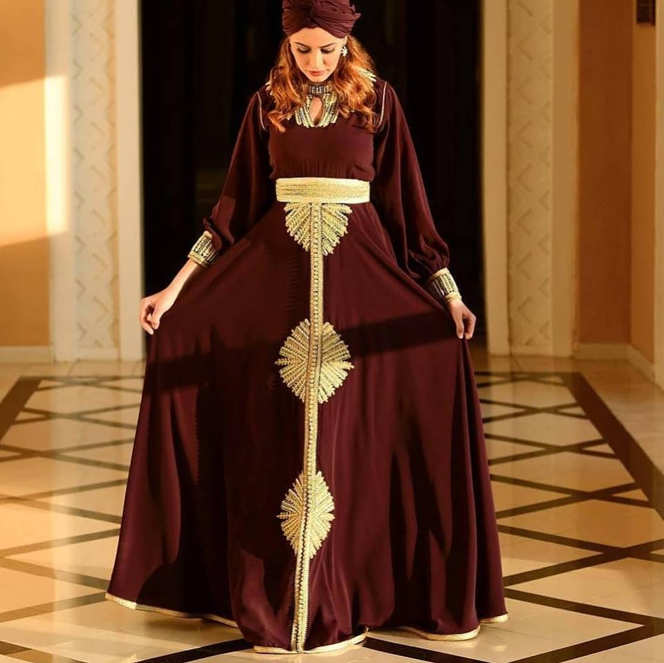 Caftan moderne haute couture