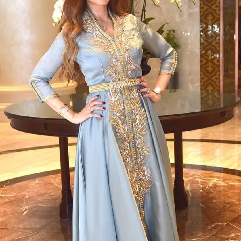 Caftan marocain sur mesure pour mariage