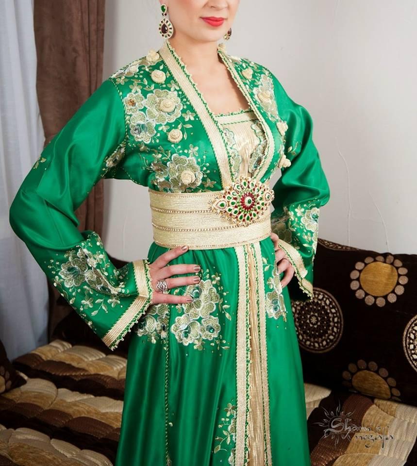 Robe marocaine de mariage 2019