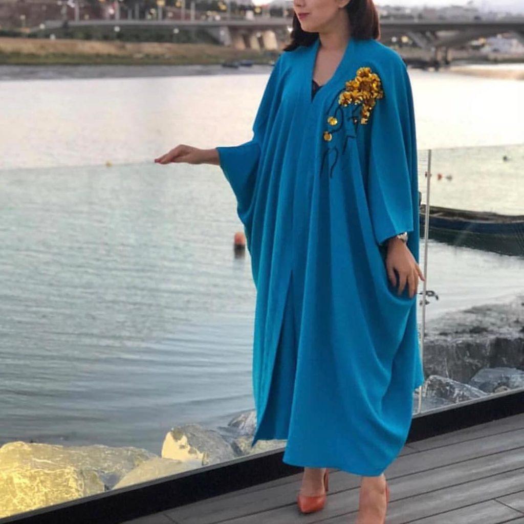 Abaya moderne modèle 2019