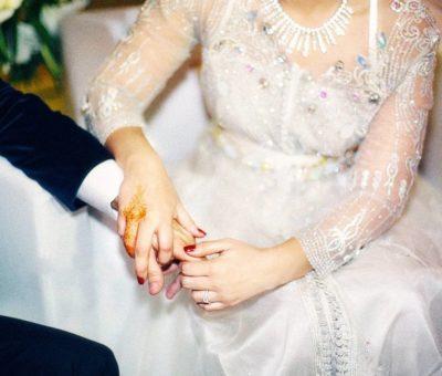 Caftan de mariage Blanc 2019