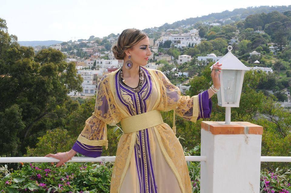caftan marocain haute couture à vendre pas cher