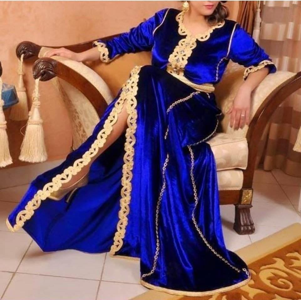 Robe caftan mobra 2019 design marocain