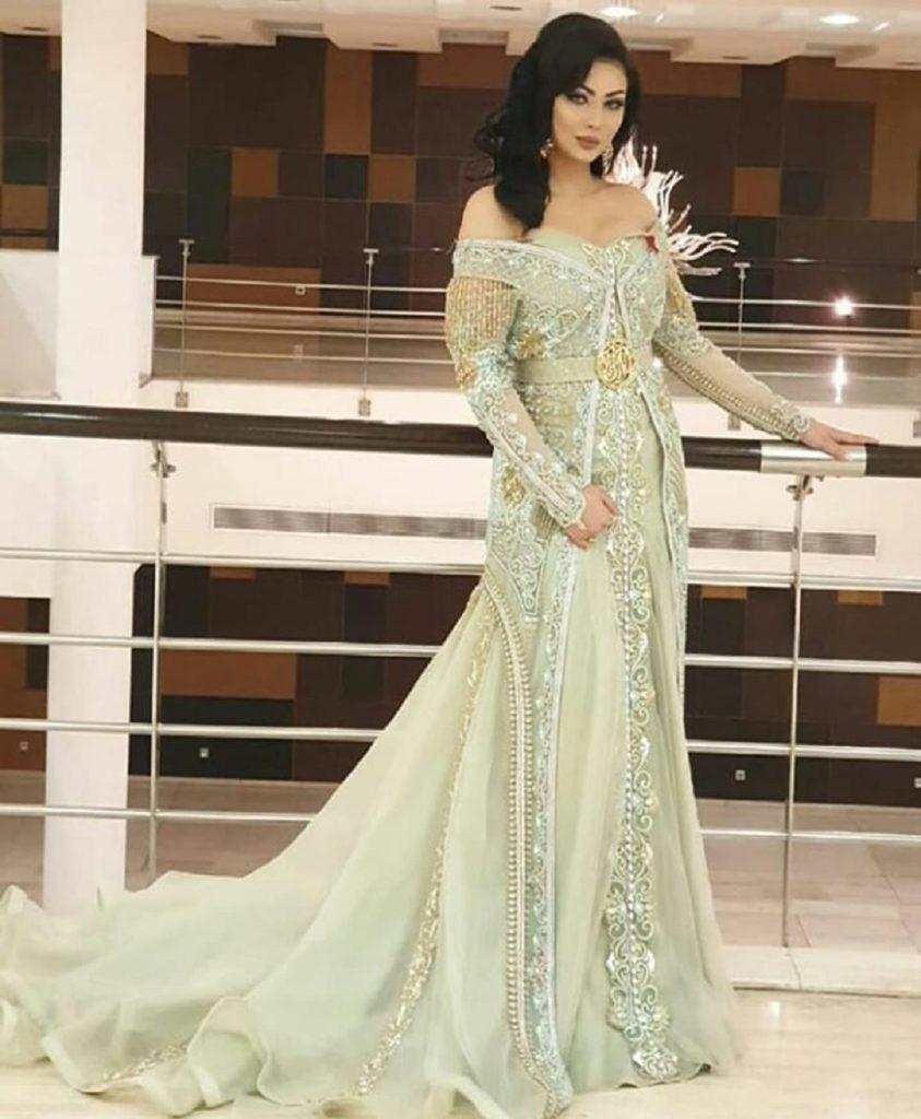Robe mariée orientale moderne