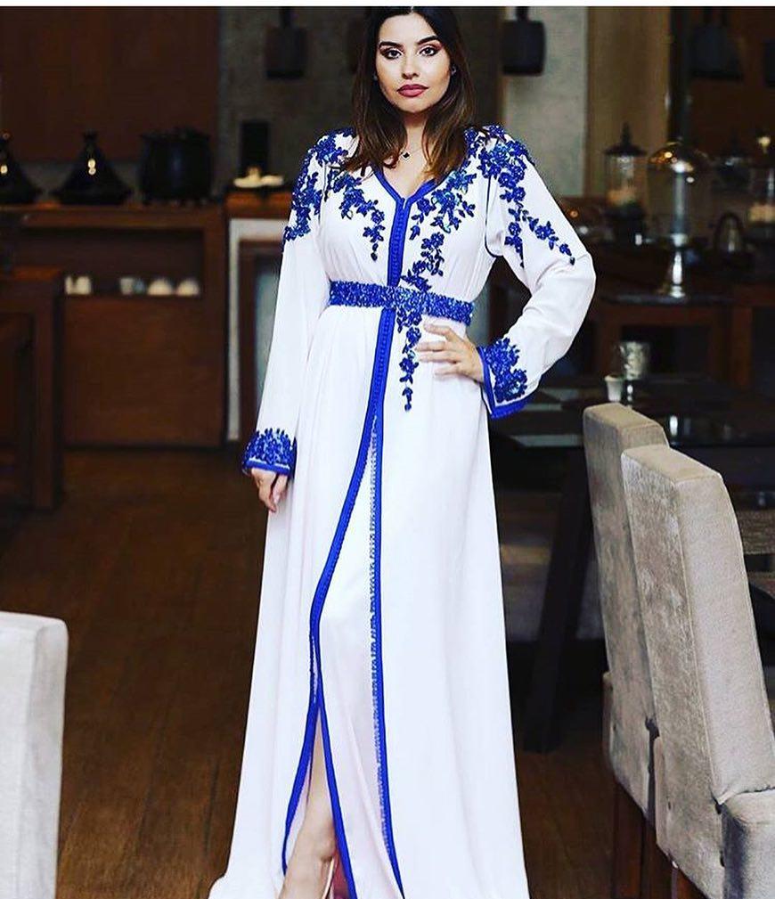 Caftan marocain moderne pour mariée