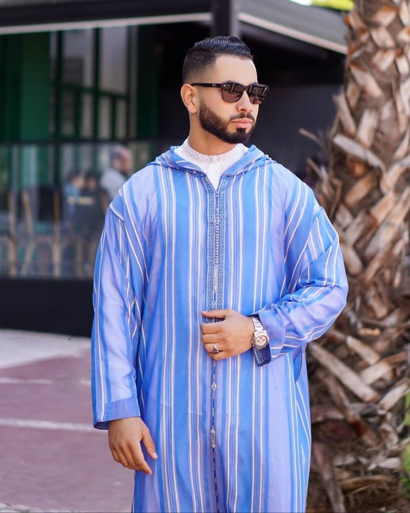 Djellaba traditionnelle homme