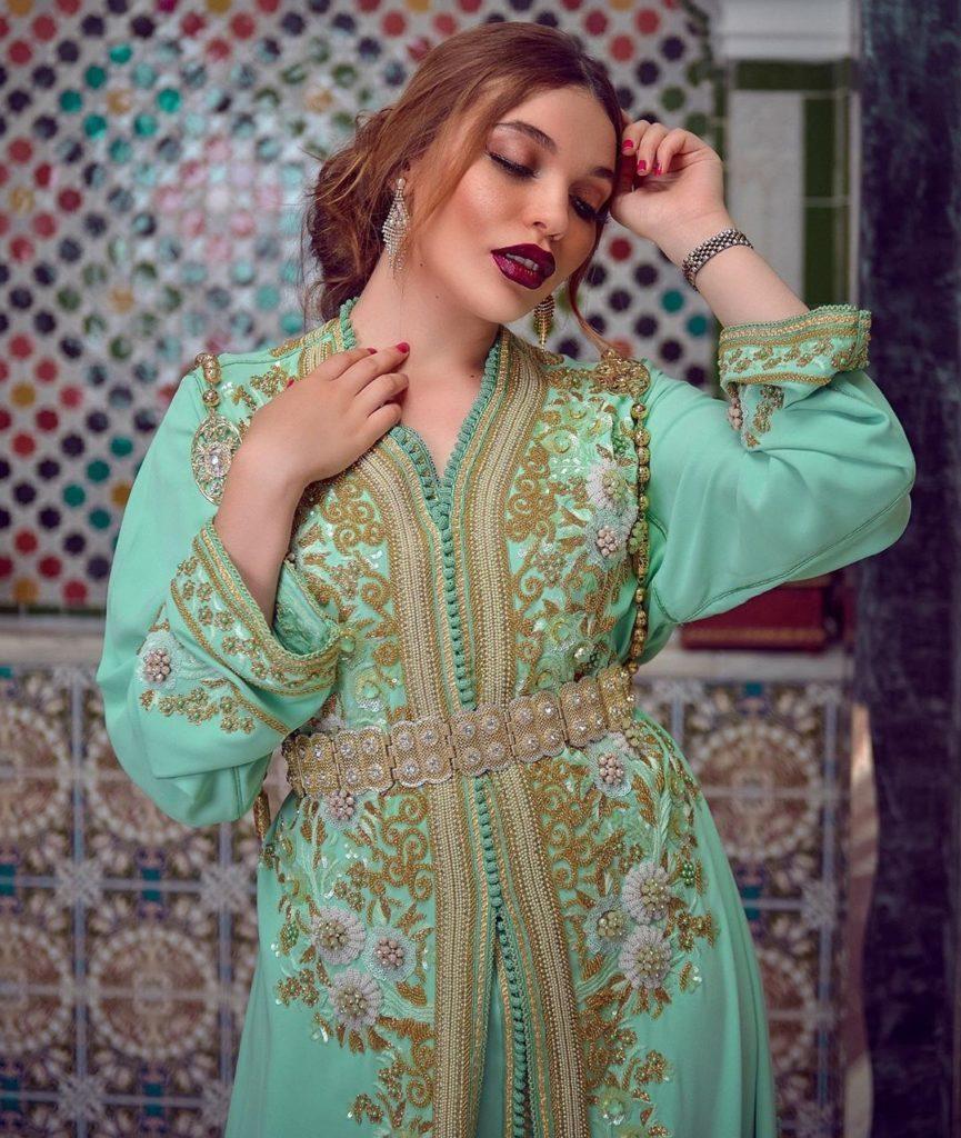 Achat caftan marocain grande taille