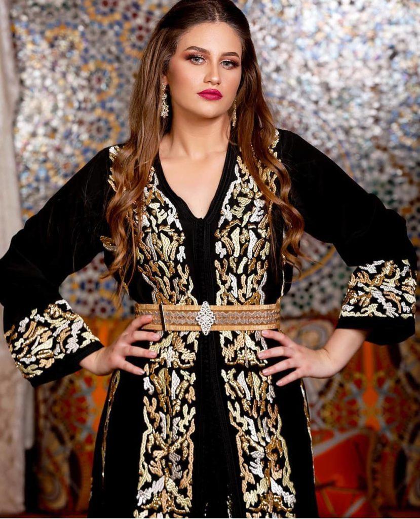 Caftan marocain à louer pas cher