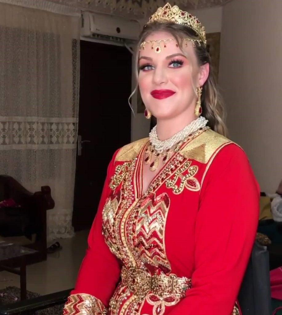 Takchita de mariage 2020 rouge