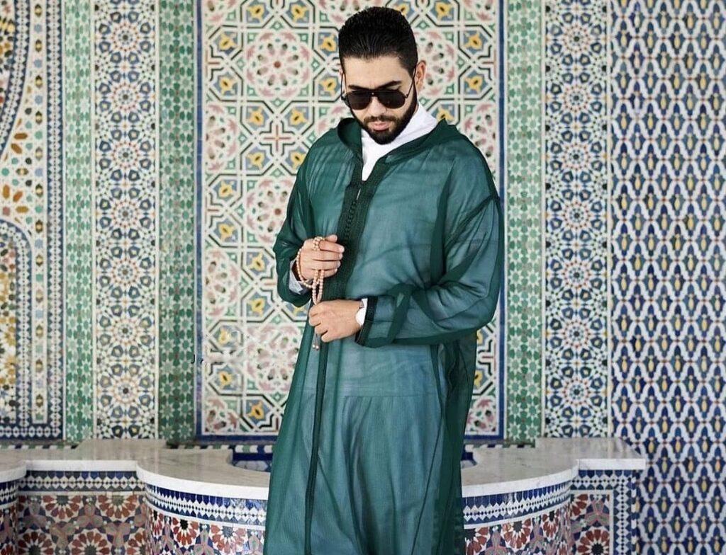Djellaba marocaine de luxe 2021 transparente