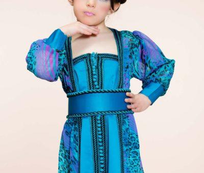 Caftan marocain petites filles 2019