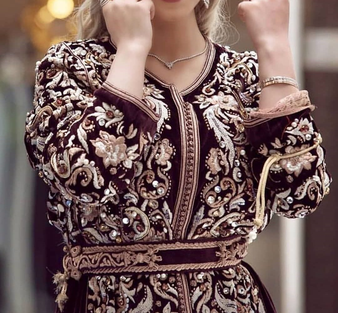 55be49ea5cc Vente caftan marocain de mariage 2019 à Paris - Caftans Marocains