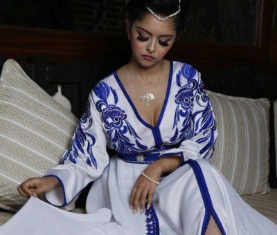 Caftan marocain blanc 2019