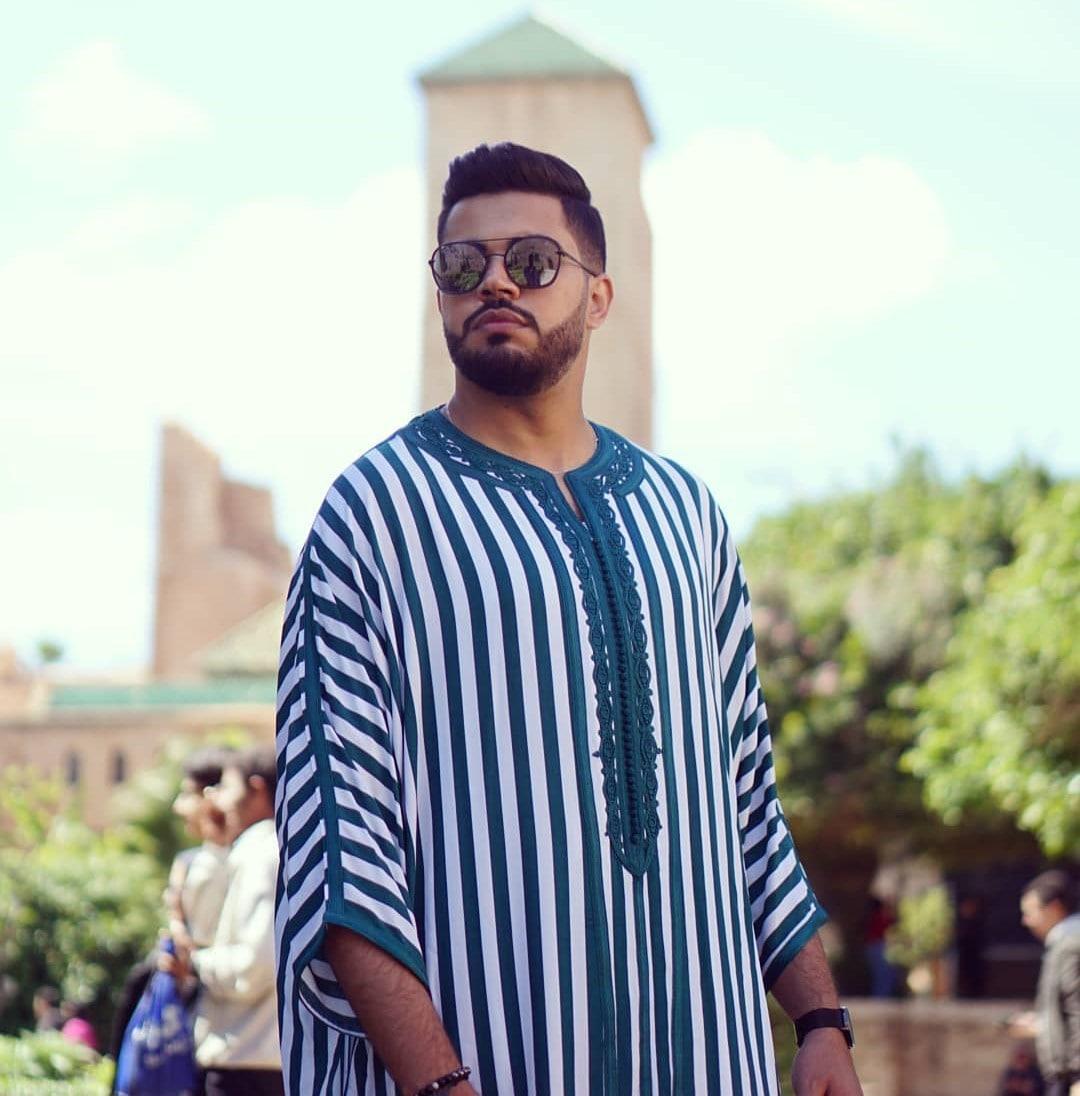 Gandoura moderne homme pour ramadan