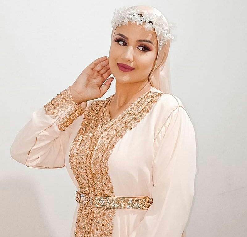Caftan de mariage 2021 Blanc